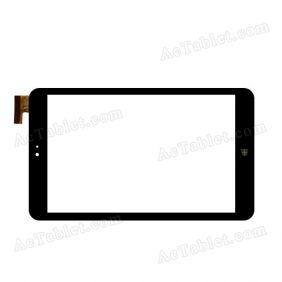 FPC-FC80J107-02 Digitizer Glass Touch Screen Replacement for 8 Inch MID Tablet PC