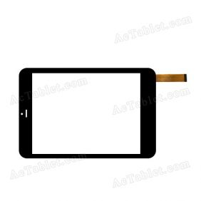 D-0736A3-PG-FPC Digitizer Glass Touch Screen Replacement for 7.9 Inch MID Tablet PC
