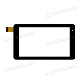 OLM-070A0933-FPC VER.1 Digitizer Glass Touch Screen Replacement for 7 Inch MID Tablet PC