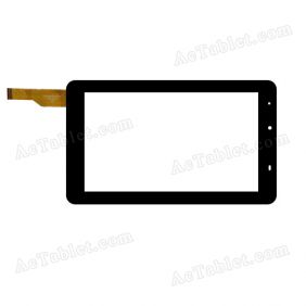 ZLD0700270716-F-B Digitizer Glass Touch Screen Replacement for 7 Inch MID Tablet PC