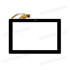 YTG-G10070-F2 V1.2 Digitizer Glass Touch Screen Replacement for 10.1 Inch MID Tablet PC