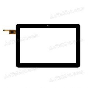 OLM-010D0468-FPC VER.2 Digitizer Glass Touch Screen Replacement for 10.1 Inch MID Tablet PC