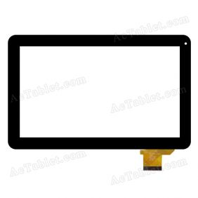 DH-1006A1-FPC26 Digitizer Glass Touch Screen Replacement for 10.1 Inch Tablet PC