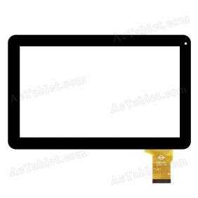 WJ678-V3.0 Digitizer Glass Touch Screen Replacement for 10.1 Inch MID Tablet PC