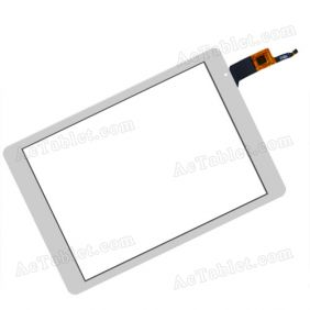 OLM-097D0761-FPC VER.2 Digitizer Glass Touch Screen Replacement for 9.7 Inch MID Tablet PC