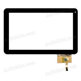 Digitizer Touch Screen Replacement for Hipstreet Equinox 2 HS-10DTB2-8GB 10.1 Inch Tablet PC
