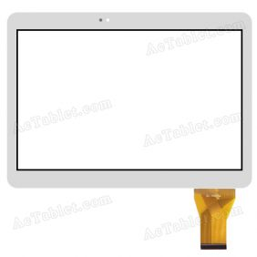 XH-03 JGDX Digitizer Glass Touch Screen Replacement for 10.1 Inch MID Tablet PC