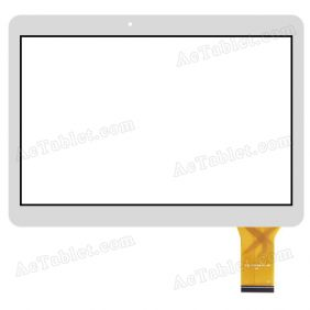 YLD-CGGA444-A0 Digitizer Glass Touch Screen Replacement for 10.1 Inch MID Tablet PC