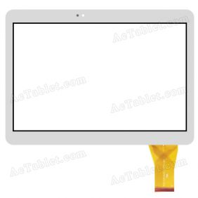 YLD-CEGA443-FPC-A0 Digitizer Glass Touch Screen Replacement for 10.1 Inch MID Tablet PC