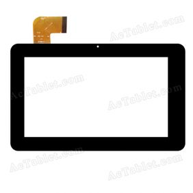 QSD E-C7009-03 LLT Digitizer Glass Touch Screen Replacement for 7 Inch MID Tablet PC