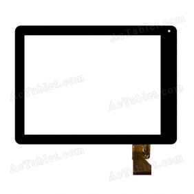 Q90 EST-0970-0413 V1 Digitizer Glass Touch Screen Replacement for 9.7 Inch MID Tablet PC