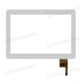 YTG-P10008-F9 V1.0 Digitizer Glass Touch Screen Replacement for 10.1 Inch MID Tablet PC