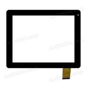 QSD 701-97066-01 Digitizer Glass Touch Screen Replacement for 9.7 Inch MID Tablet PC