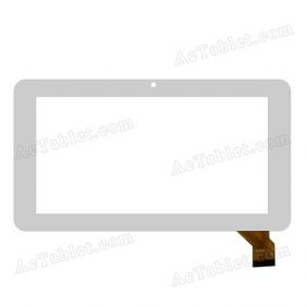 WJ696-V1.0 Digitizer Glass Touch Screen Replacement for MID Tablet PC