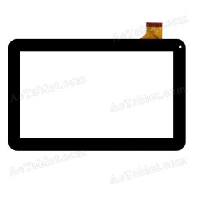 10112-0C4826B Digitizer Glass Touch Screen Replacement for 10.1 Inch MID Tablet PC