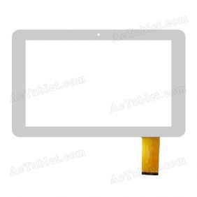 Feb-DH-1011A1-FPC044 Rx16*Tx28 SR  Digitizer Touch Screen Replacement for 10.1 Inch Tablet PC
