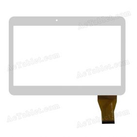 YCG-C10.1-0182C-F-01 Digitizer Glass Touch Screen Replacement for 10.1 Inch MID Tablet PC