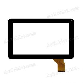 GT90DR8822 Digitizer Glass Touch Screen Replacement for 9 Inch MID Tablet PC