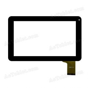 WJ627-V1.0 Digitizer Glass Touch Screen Replacement for 9 Inch MID Tablet PC