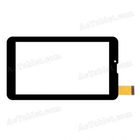 FHF070076 Digitizer Glass Touch Screen Replacement for 7 Inch MID Tablet PC