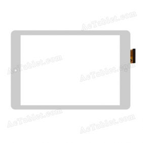 YTG-G97026-F2 Digitizer Glass Touch Screen Replacement for 9.7 Inch MID Tablet PC