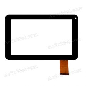 TYF1136V3 Digitizer Glass Touch Screen Replacement for 9 Inch MID Tablet PC