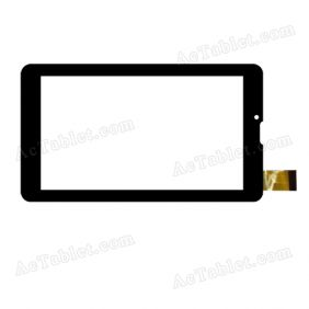 WJ506-V2.0 Digitizer Glass Touch Screen Replacement for 7 Inch MID Tablet PC