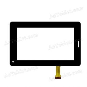 XN1369 H Digitizer Glass Touch Screen Replacement for 7 Inch MID Tablet PC