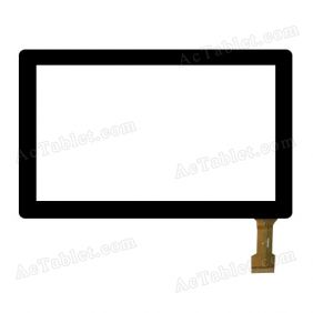 GT07001A Digitizer Glass Touch Screen Replacement for 7 Inch MID Tablet PC