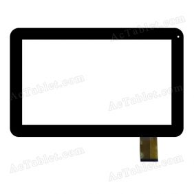 F-WGJ10195-V2 Digitizer Glass Touch Screen Replacement for 10.1 Inch MID Tablet PC