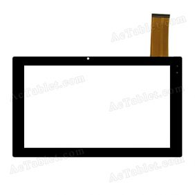 F-WGJ10207-V2 Digitizer Glass Touch Screen Replacement for 10.1 Inch MID Tablet PC