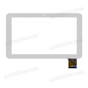 F-WGJ10198-V1 Digitizer Glass Touch Screen Replacement for 10.1 Inch MID Tablet PC