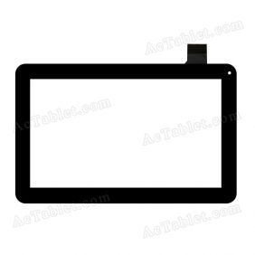 HS1291 Digitizer Glass Touch Screen Replacement for 10.1 Inch Tablet PC