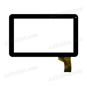 SG5560A-FPC_V2-1 Digitizer Glass Touch Screen Replacement for 10.1 Inch MID Tablet PC