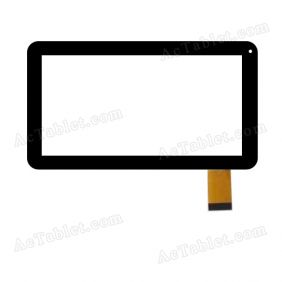 NH-1015A1-FPC065 Digitizer Glass Touch Screen Replacement for 10.1 Inch MID Tablet PC