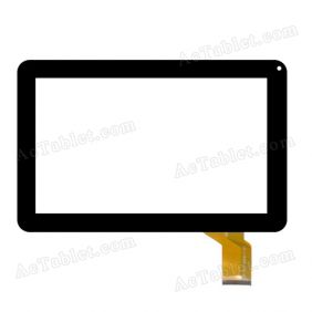 FX-C9.0-0053A-F-01 Digitizer Glass Touch Screen Replacement for 9 Inch MID Tablet PC