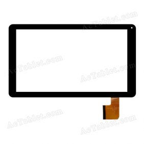 DH-1012A1-FPC046-V6.0 Digitizer Glass Touch Screen Replacement for 10.1 Inch MID Tablet PC