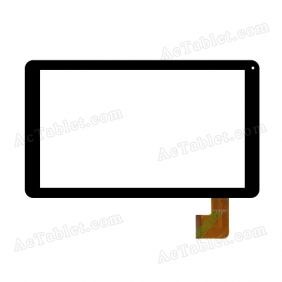 DH-1012A2-FPC062-02 Digitizer Glass Touch Screen Replacement for 10.1 Inch MID Tablet PC