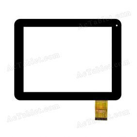 FPC-CY097001(988)-01 Digitizer Glass Touch Screen Replacement for 9.7 Inch MID Tablet PC