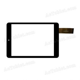 NJG078009AEGOB-V1 Digitizer Glass Touch Screen Replacement for 7.9 Inch MID Tablet PC
