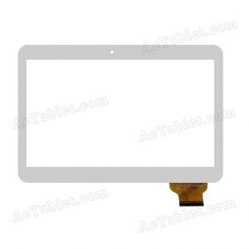 XC-PG0900-028W-A0 FPC Digitizer Glass Touch Screen Replacement for 9 Inch MID Tablet PC