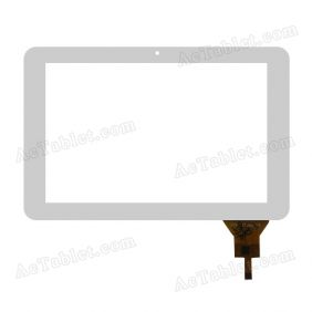 DH-1037A1-FPC135-V1.0 Digitizer Glass Touch Screen Replacement for 10.1 Inch MID Tablet PC
