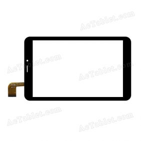 YTG-G80034-F1 V1.1 Digitizer Glass Touch Screen Replacement for 8 Inch MID Tablet PC