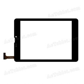 YTG-C80010-F1 V1.0 Digitizer Glass Touch Screen Replacement for 7.9 Inch MID Tablet PC
