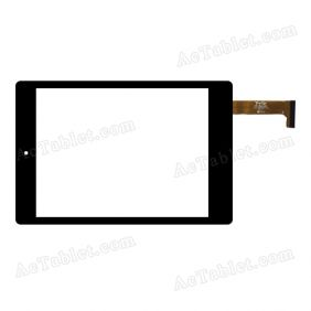 YTG-G80050-F2 V1.1 Digitizer Glass Touch Screen Replacement for 7.9 Inch MID Tablet PC