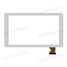 DH-0939A2-PG-FPC137-V2.0 Digitizer Glass Touch Screen Replacement for 9 Inch MID Tablet PC