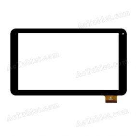 HK10DR2478-V01 Digitizer Glass Touch Screen Replacement for 10.1 Inch MID Tablet PC