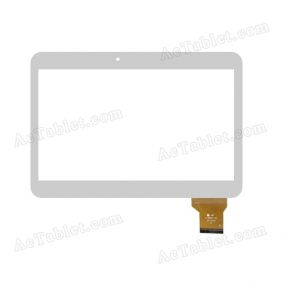 YJ156FPC-V0 VO Digitizer Glass Touch Screen Replacement for 10.1 Inch MID Tablet PC