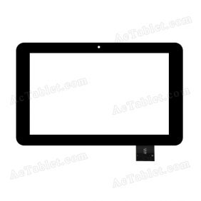 0176-BLX 2013.12 Digitizer Glass Touch Screen Replacement for 9 Inch MID Tablet PC
