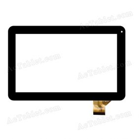 FPC-CY101067(DH1001)-00 Digitizer Glass Touch Screen Replacement for 10.1 Inch MID Tablet PC